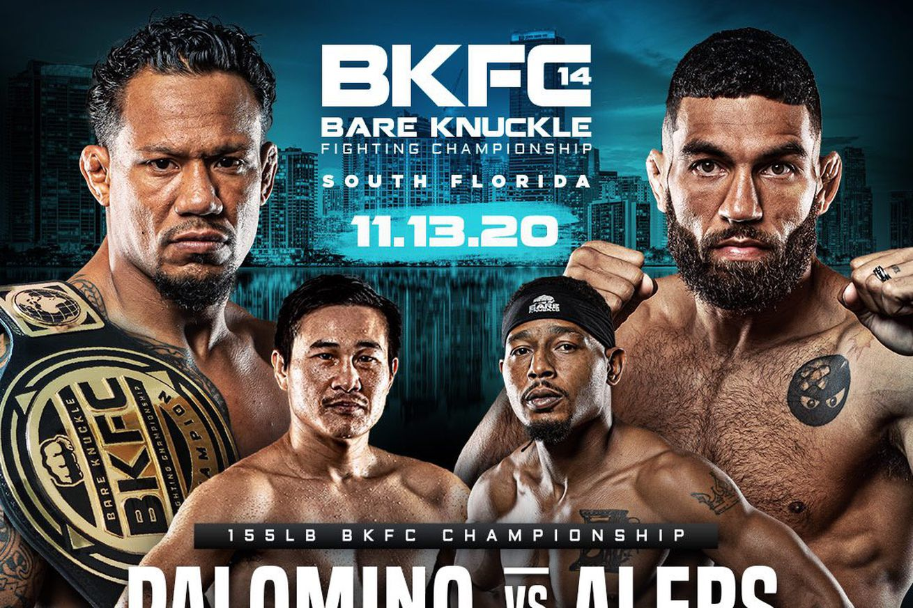 <label><a href='http://idinterior.in/news/boxing/27545/BKFC-14-Live-coverage-NOW?ref=headlines' class='headline_anchor news_link'>BKFC 14: Live coverage NOW!</a></label><br />BKFC are back tonight with a 155-pound title fight in the main event. Results  Alan Arzeno TKO-1 Fr