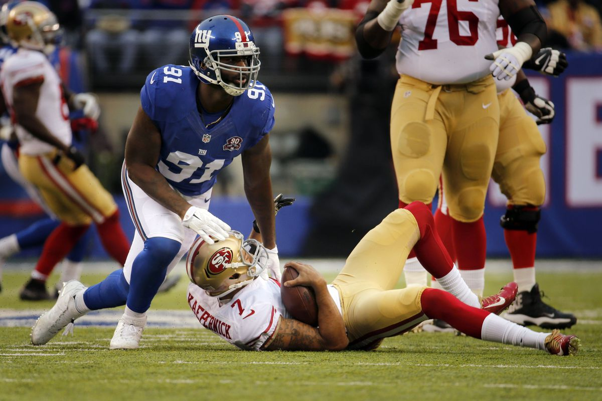 Robert Ayers was carted off the practice field on Wednesday
