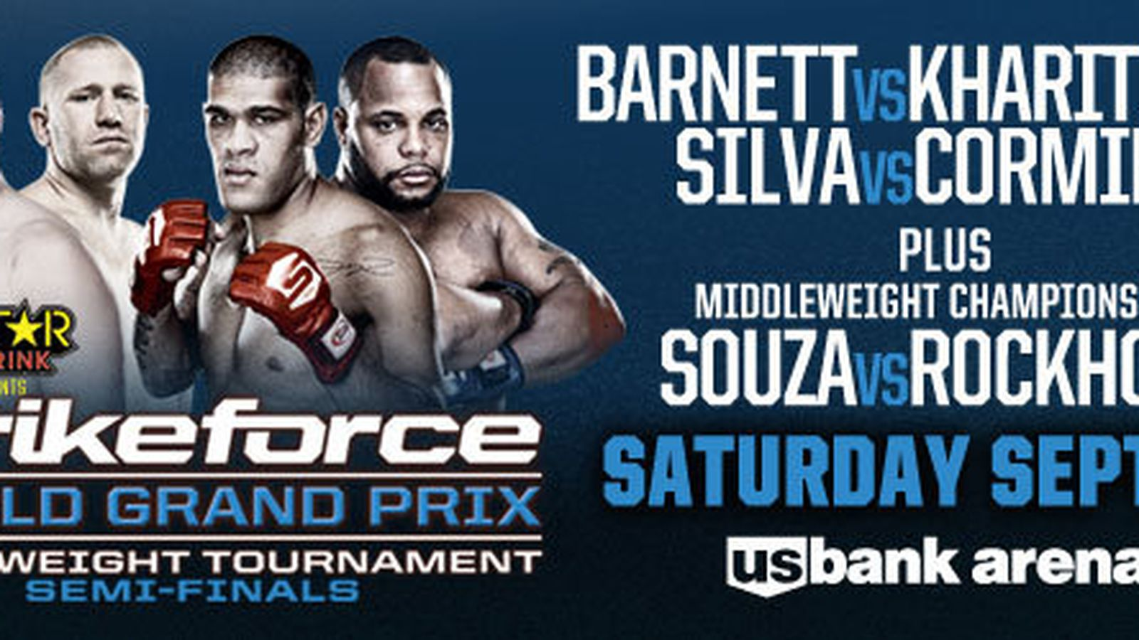 Strikeforce Heavyweight Grand Prix Semifinals fight card ...