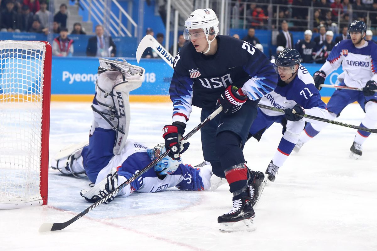 Czechs stop USA's run in men's hockey at 2018 Winter Olympics