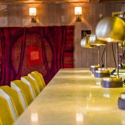 The bar downstairs at BeetleCat.