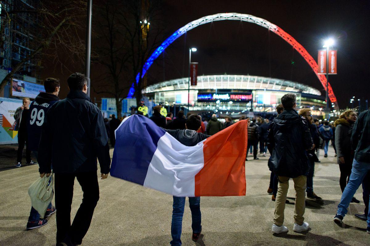 Build Up To England V France Football Friendly