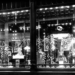 The ZCMI Christmas display, a long-running Salt Lake tradition, is featured in 1916.