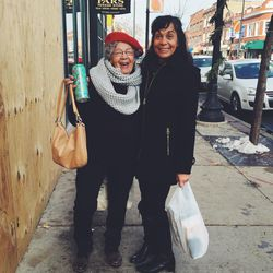 Monique Volz' grandmother, Gloria, and her mother, Lynn.  | Ambitious Kitchen/ Food We Love