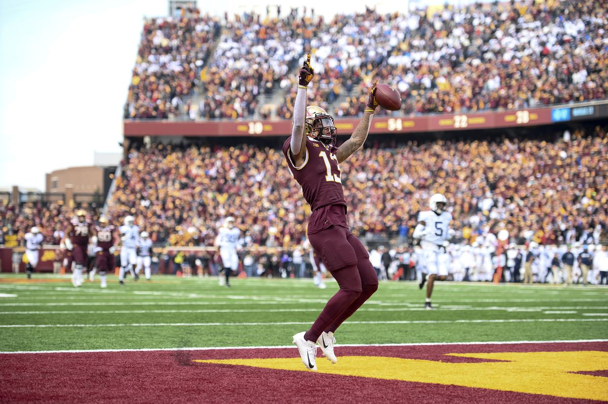The Minnesota Golden Gophers defeated the Penn State Nittany Lions