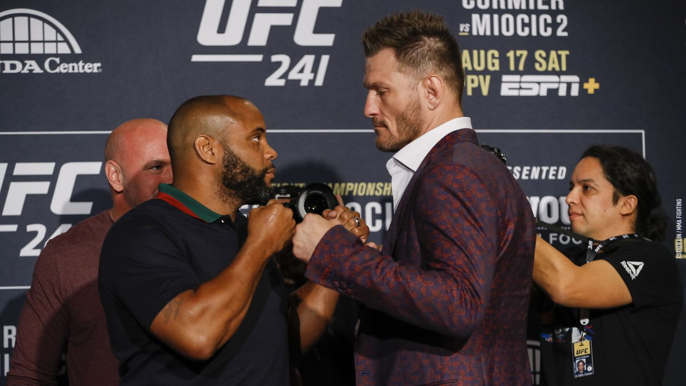 UFC 241 preview: Most rematches are dumb, including 'Cormier vs Miocic 2'