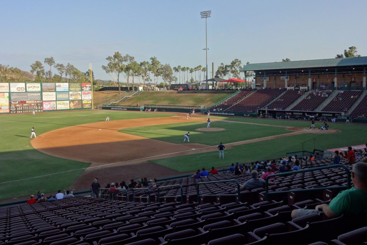 Lake Elsinore Storm Schedule 2020 Lake Elsinore Storm announce upgrades to their stadium   Gaslamp Ball