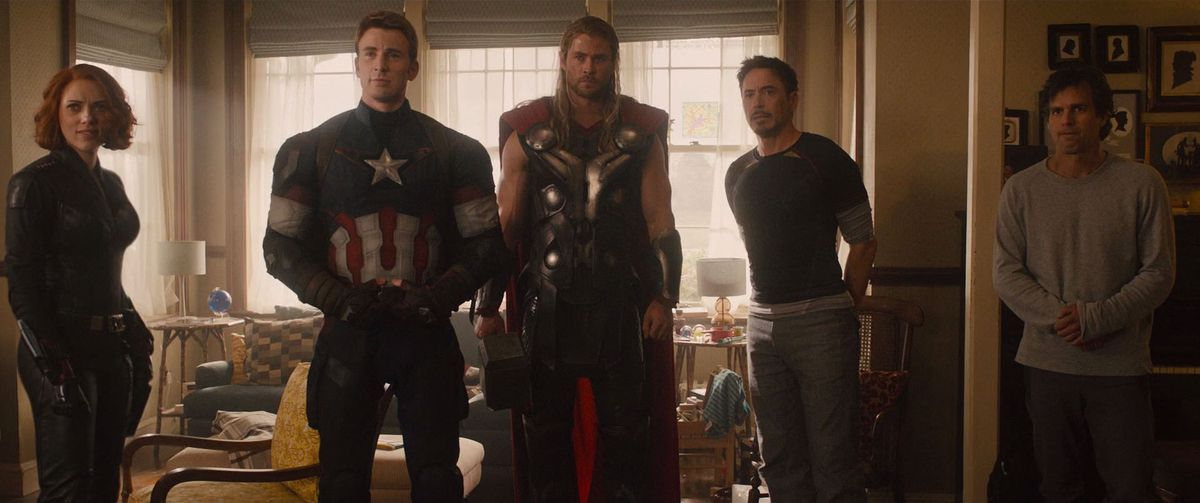 all the avengers in age of ultron