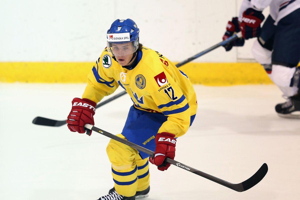 Sweden v USA White - 2014 USA Hockey Junior Evaluation Camp
