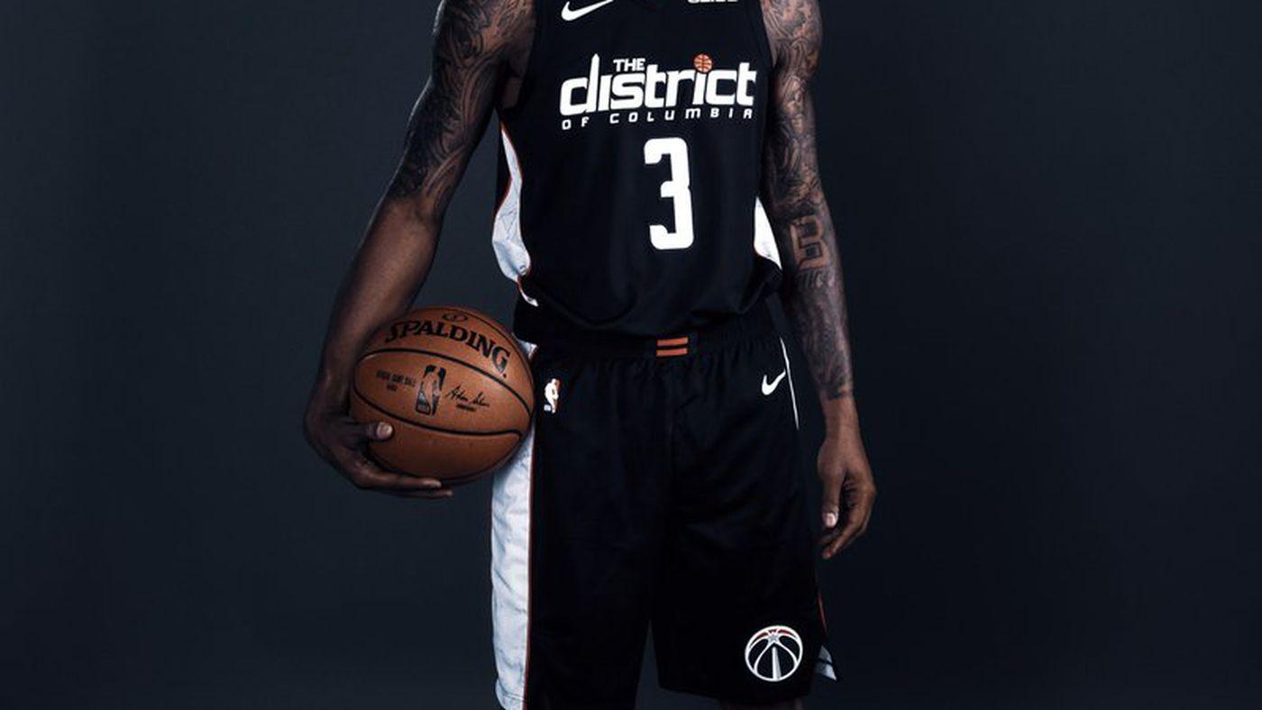 newest e2aa2 c5995 Wizards unveil black District uniforms for 2018-19 season ...
