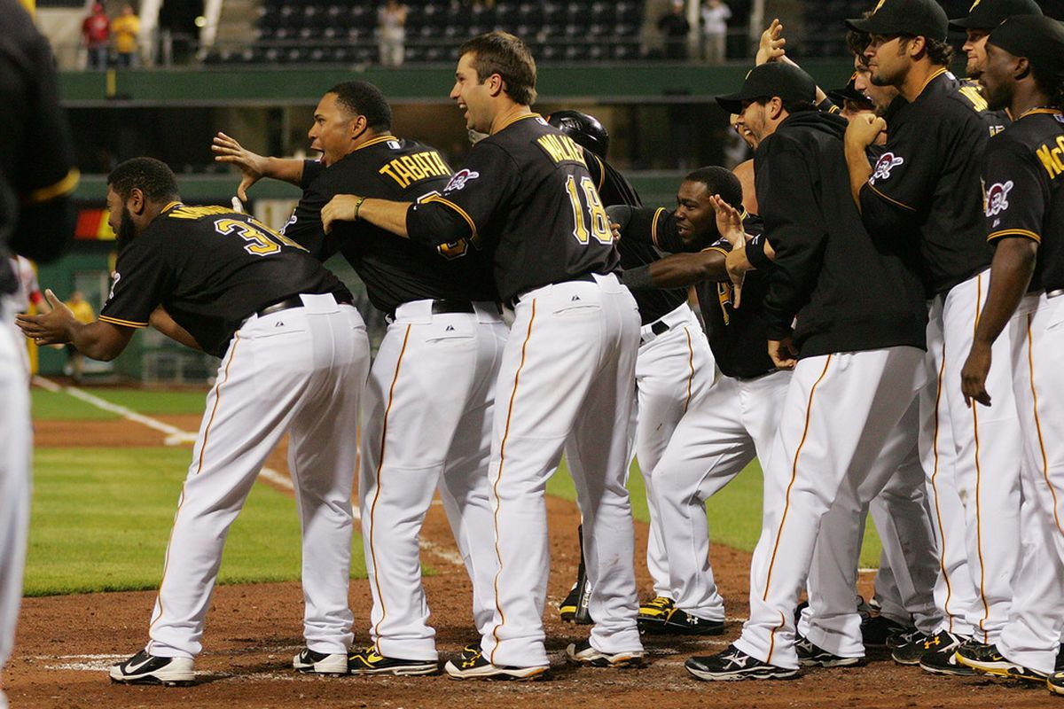 Just about every run scored by the Pirates this season has been cause for celebration.