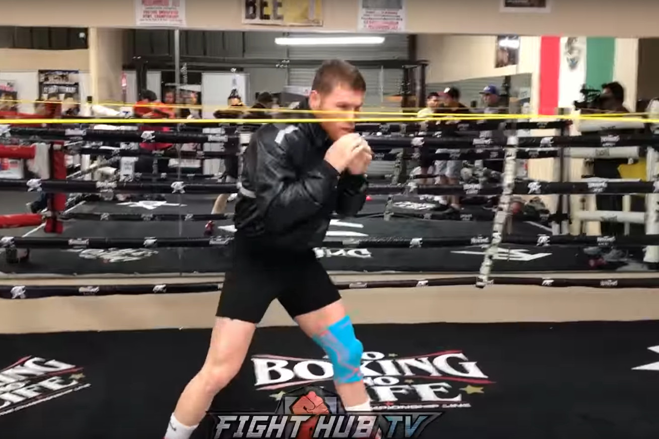 Screen Shot 2019 04 29 at 10.23.57 AM.0 - WATCH: Canelo works on head movement ahead of title clash