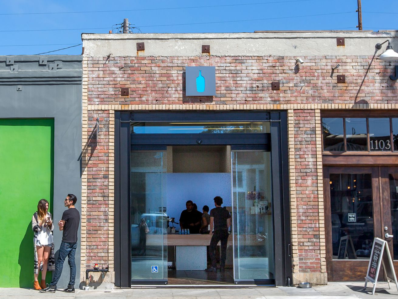Blue Bottle in Venice