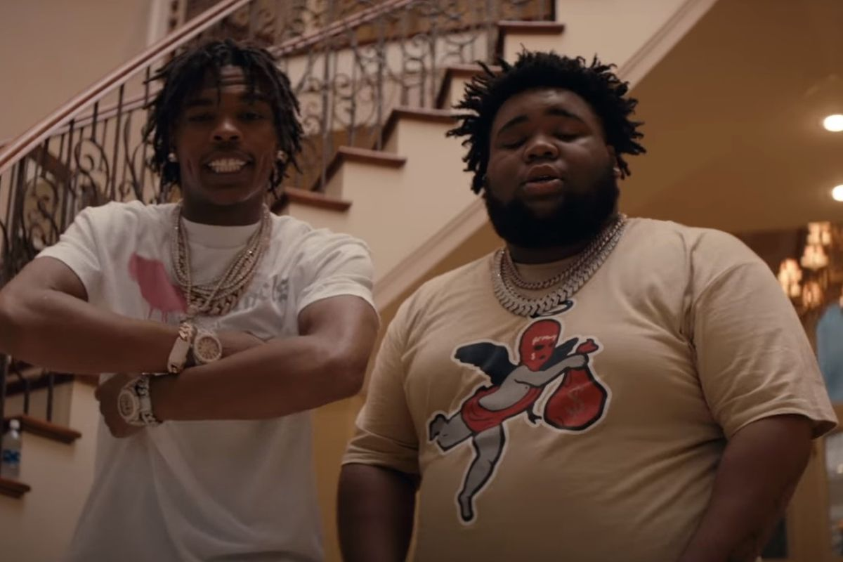 Lil Baby and Rod Wave
