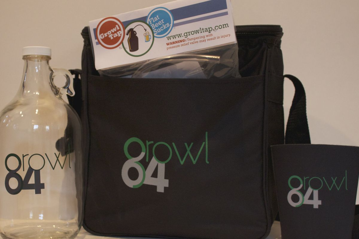 Growl64 swag for Indiegogo supporters.