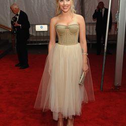 Scarlett Johansson in Dolce & Gabbana in 2008.