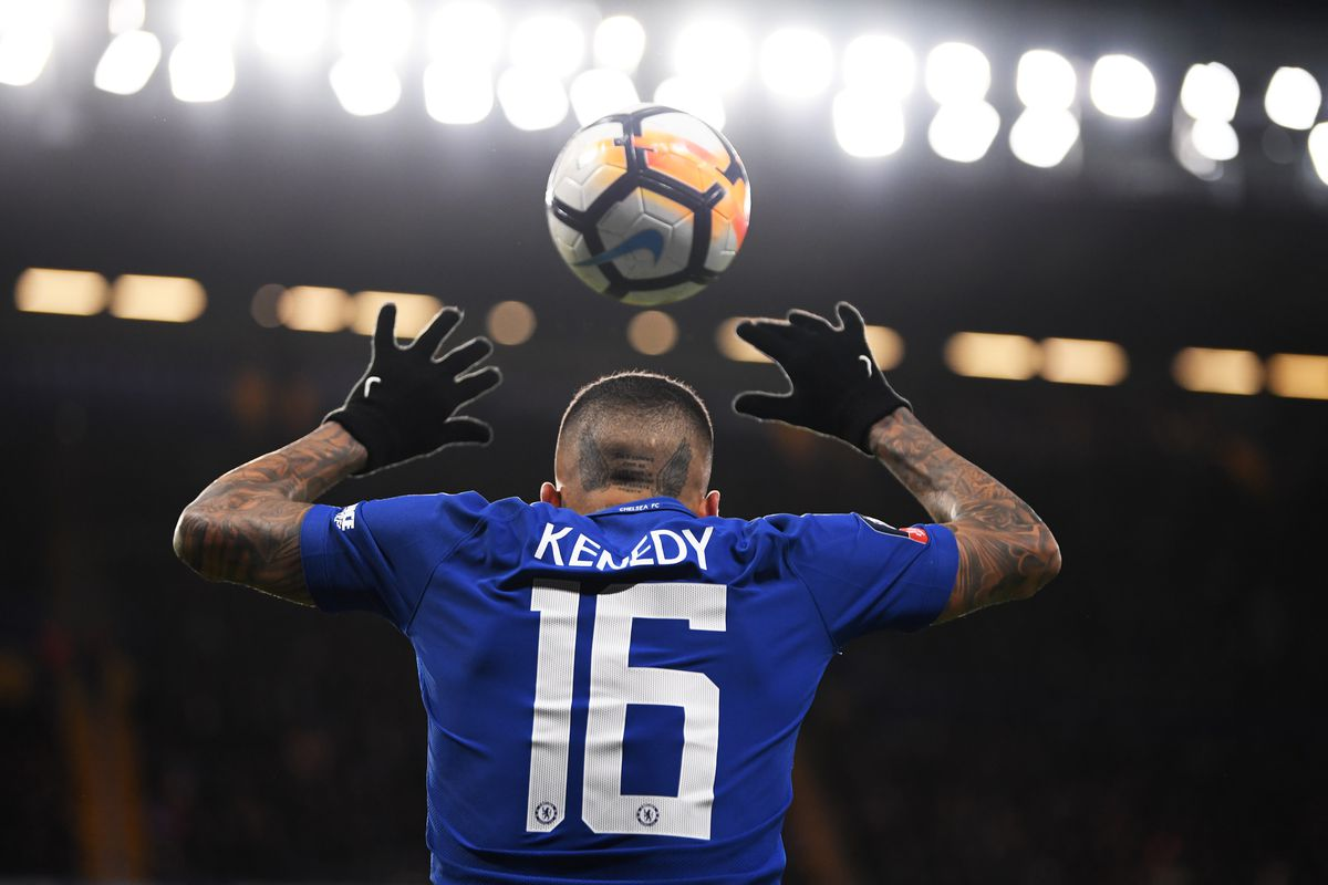 Antonio Conte reacts to Kenedy's loan move to Newcastle