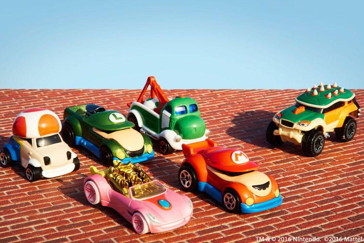 Nintendo Hot Wheels toy cars