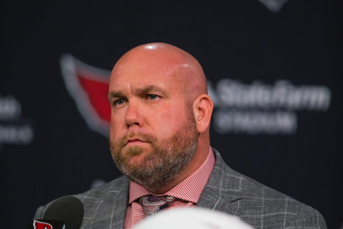 NFL: Arizona Cardinals- Kliff Kingsbury Press Conference