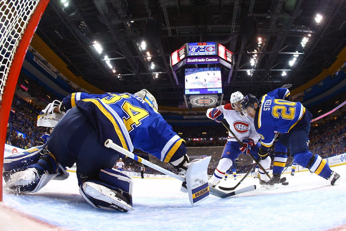 Montreal Canadiens v St Louis Blues