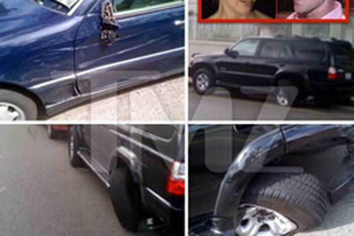 January Jones Car Crash Includes Bobby Flay Cameo - Eater