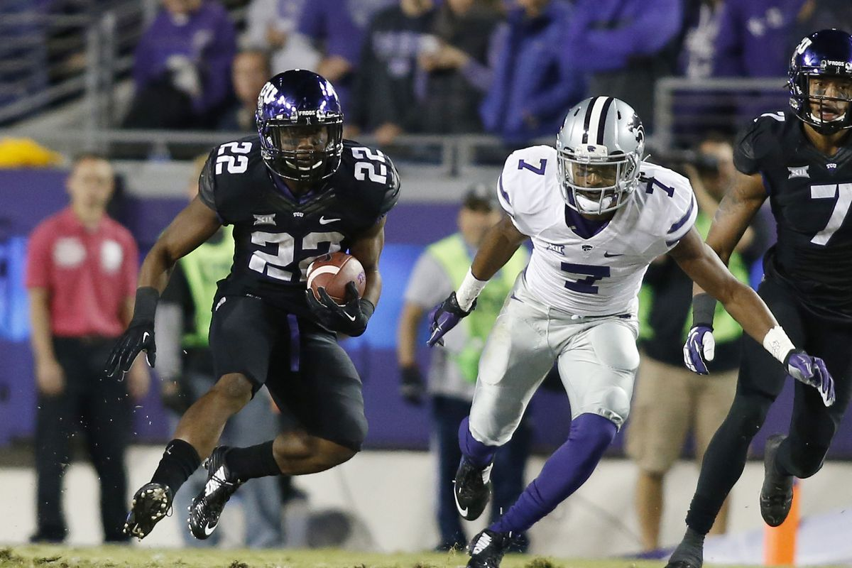 With Aaron Green gone after 2015, we hope Trayveon Williams will keep the RB position strong in 2016