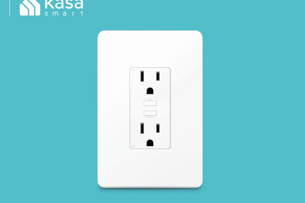 TP-Link KP200 smart outlet is actually an outlet, not a smart