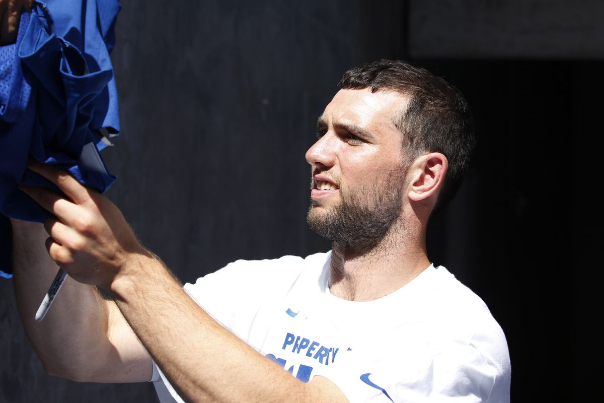 Andrew Luck injury Potentially still out by time Colts play