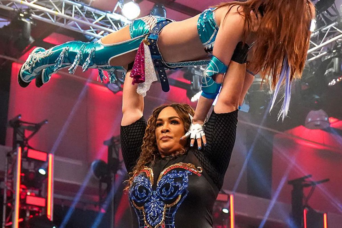 There was another incident between Nia Jax and Kairi Sane (spoiler ...