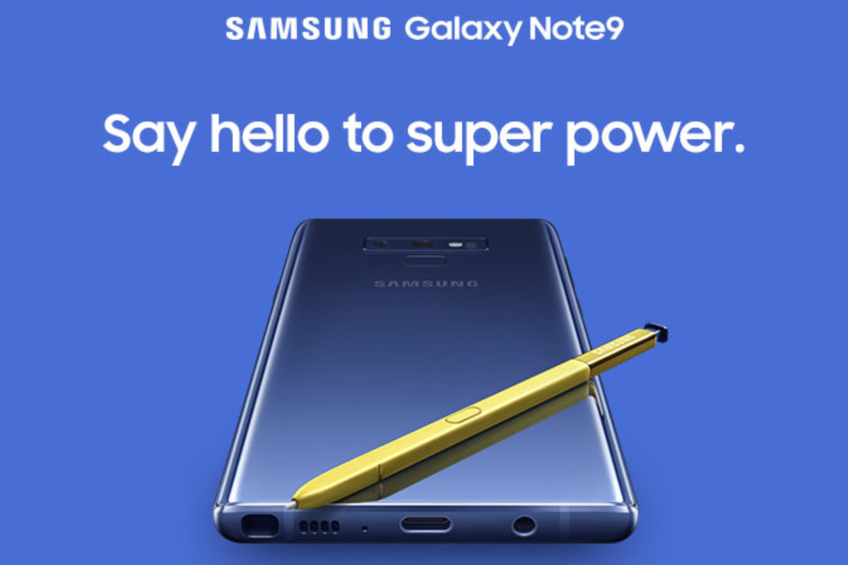 Samsung Accidentally Leaks Another Look At The Galaxy Note 9 The Verge