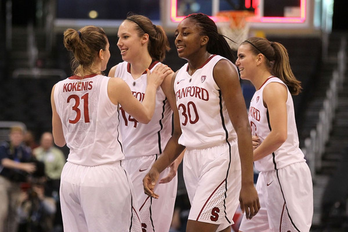 Stanford is two wins away from its fourth consecutive Final Four.