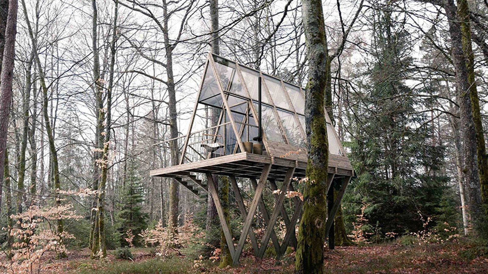 Swedish Eco Retreat Will Have 14 Glass Cabins And A