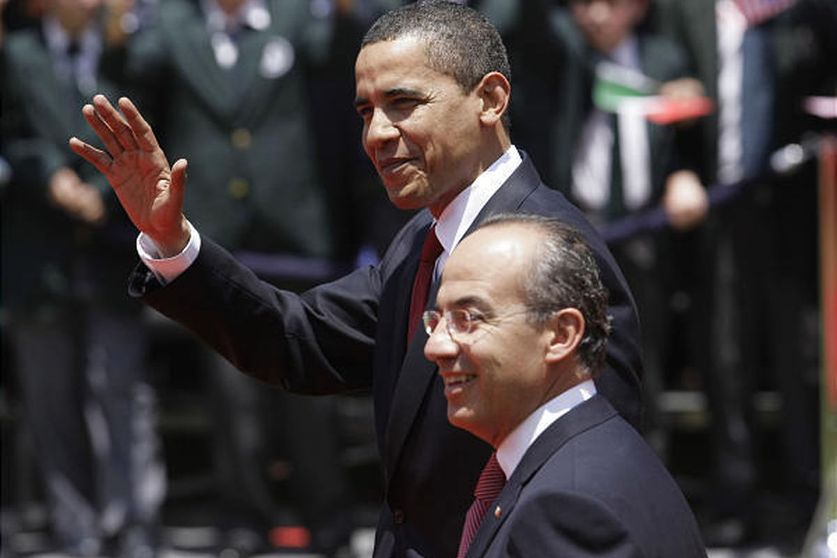 President Barack Obama recently met with Mexican President Felipe Calderon to discuss issues facing the U.S., Mexico and Canada.