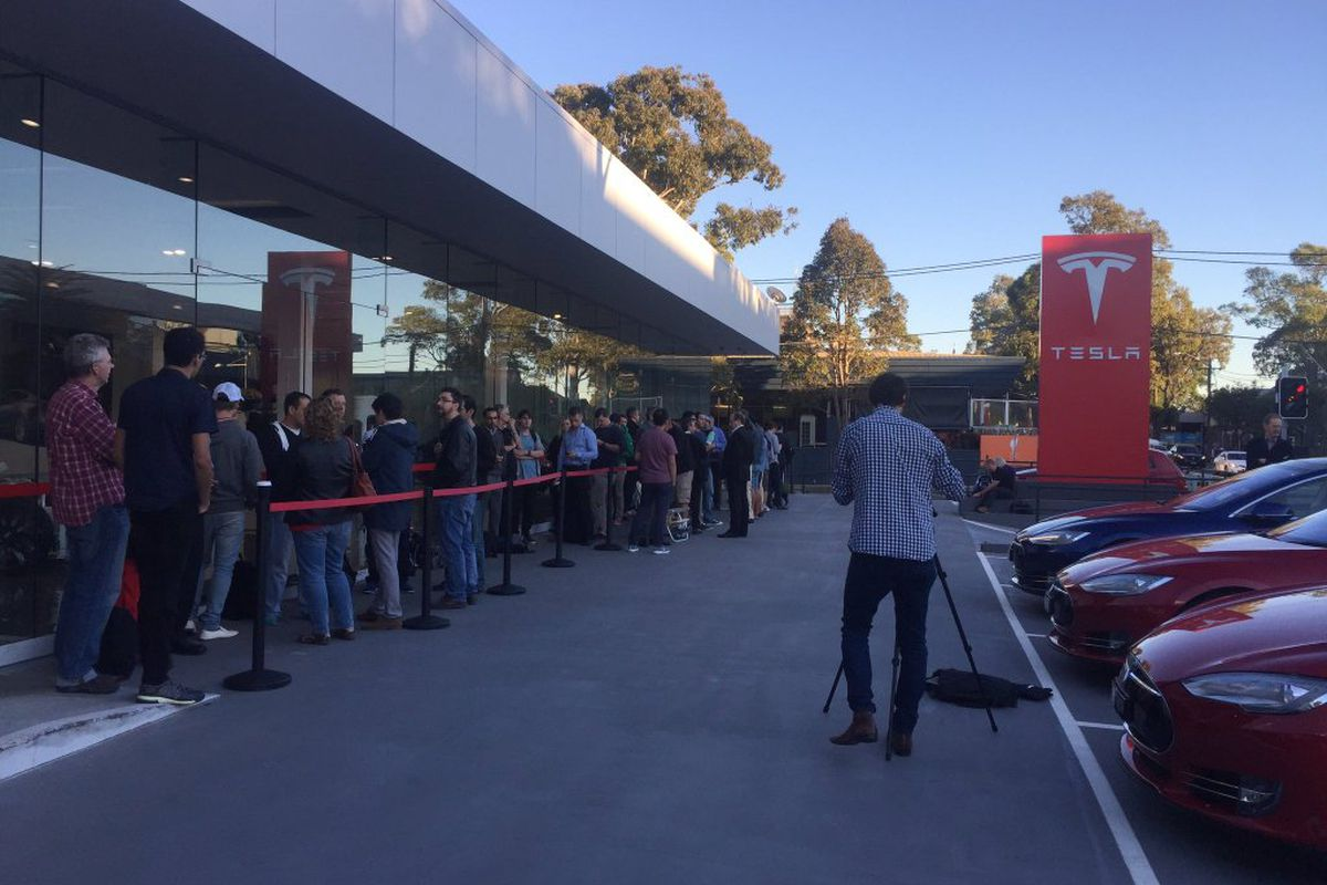 Tesla Model 3 pre-orders have begun in some parts of the
