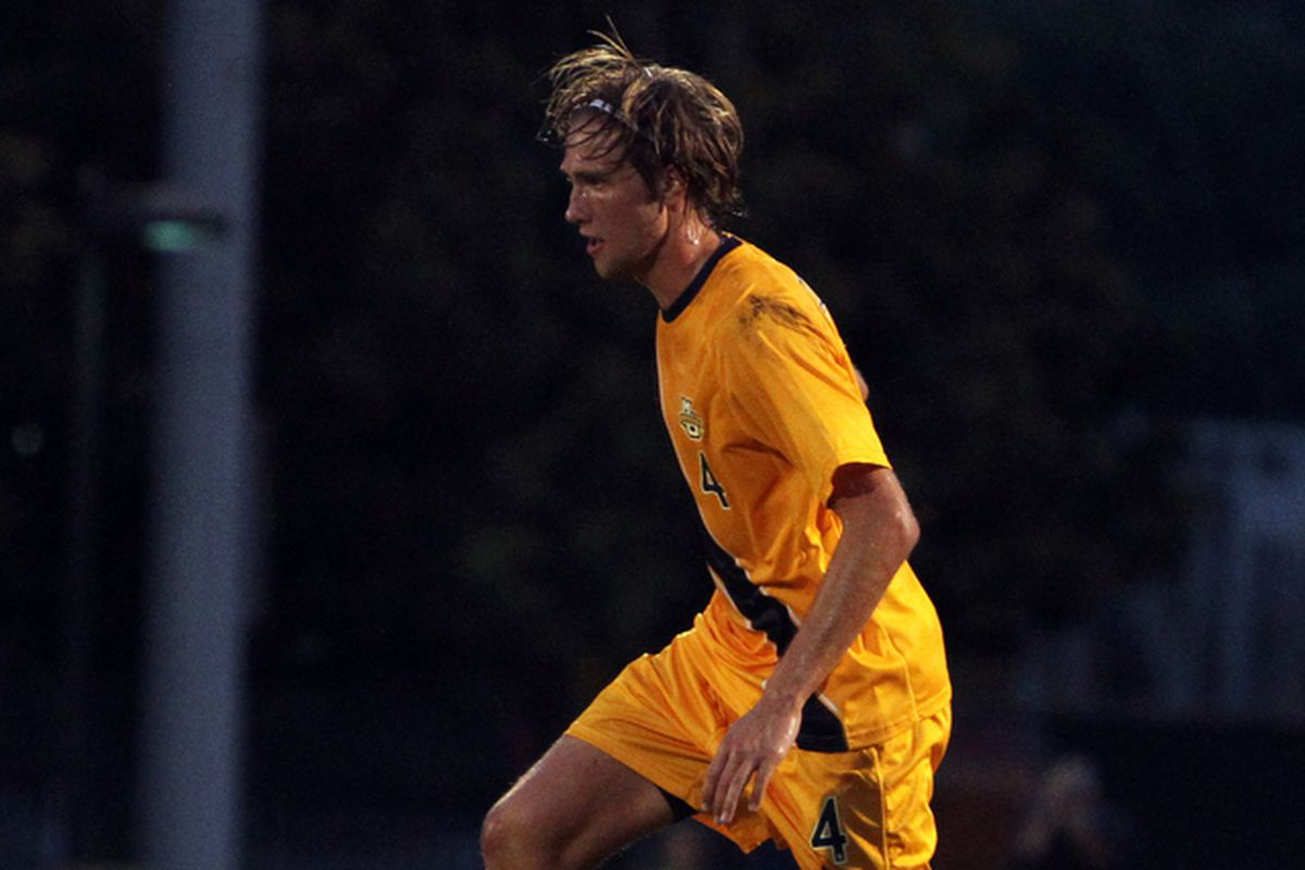 Defender Axel Sjoberg accounted for Marquette's lone goal against Notre Dame.