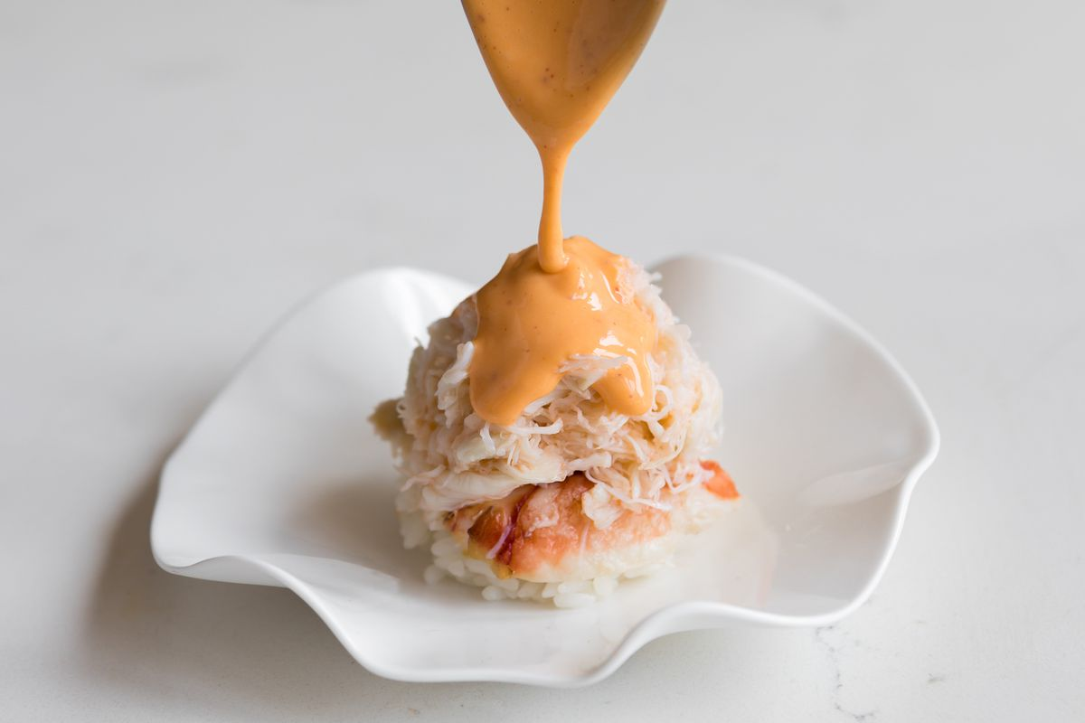 Crab small plate from Le Fantastique