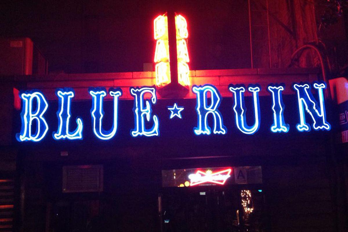 Blue Ruin Bar Hell S Kitchen