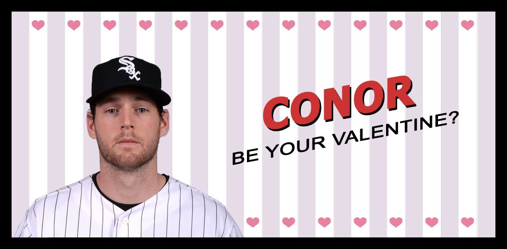 Conor Valentine's Day Card Be Your Valentine