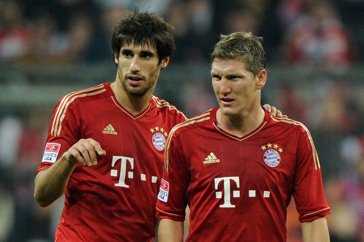 Bastian Schweinsteiger returns to training while Javi Martinez