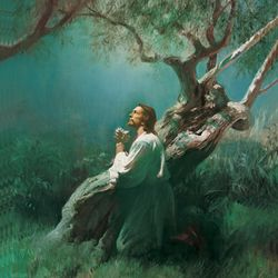 Christ in Gethsemane by Harry Anderson.