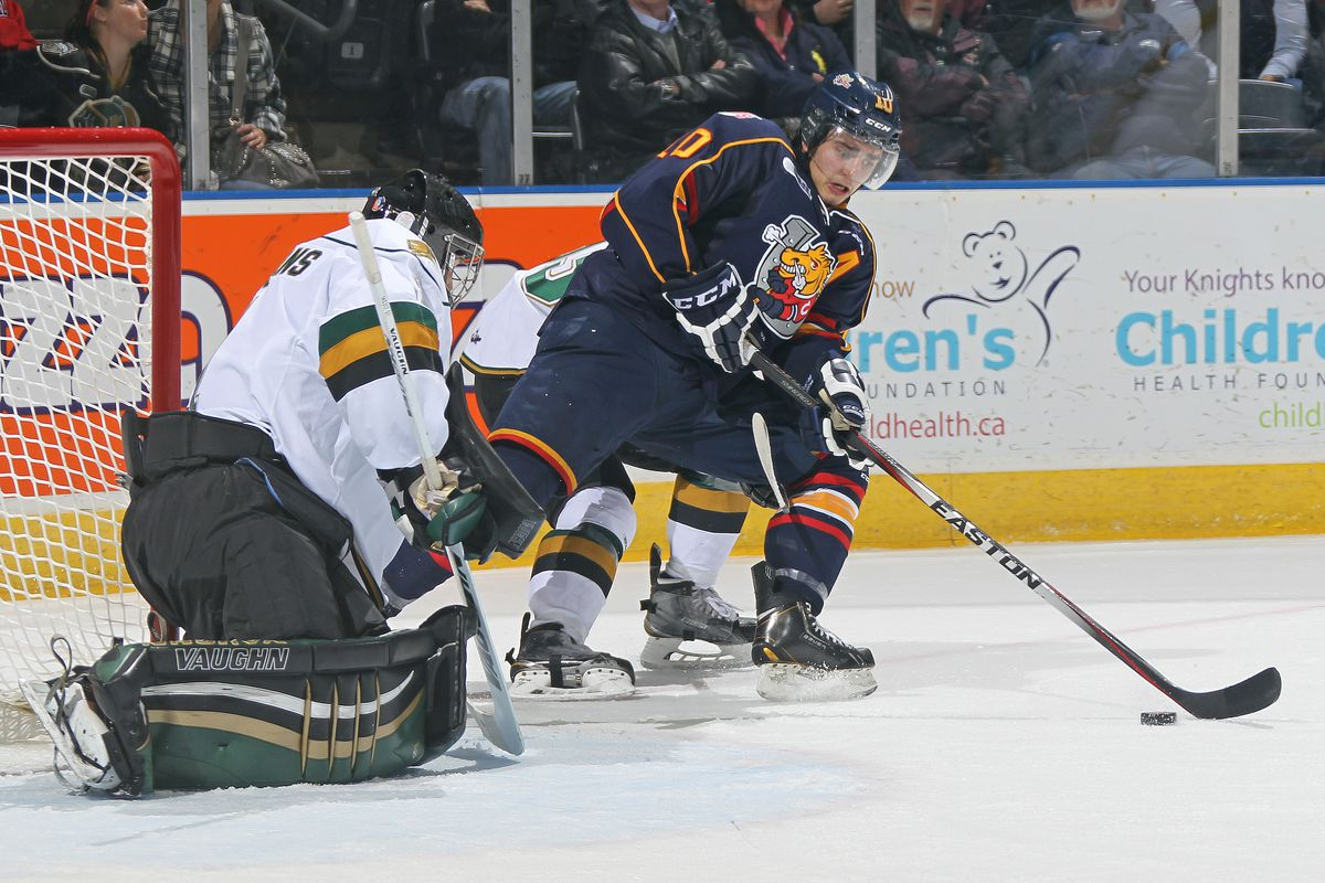 Joseph Blandisi had 2 goals and 2 assists on the week and is currently 5th in OHL scoring with 78 points in 48 games.