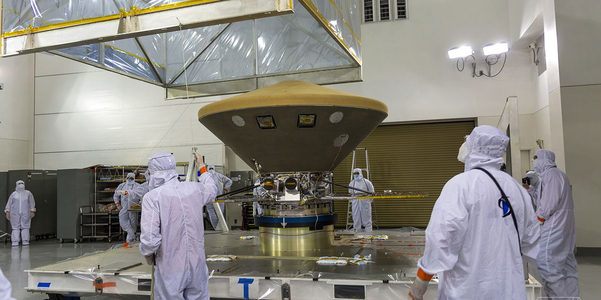 I flew with the next NASA spacecraft that will land on Mars
