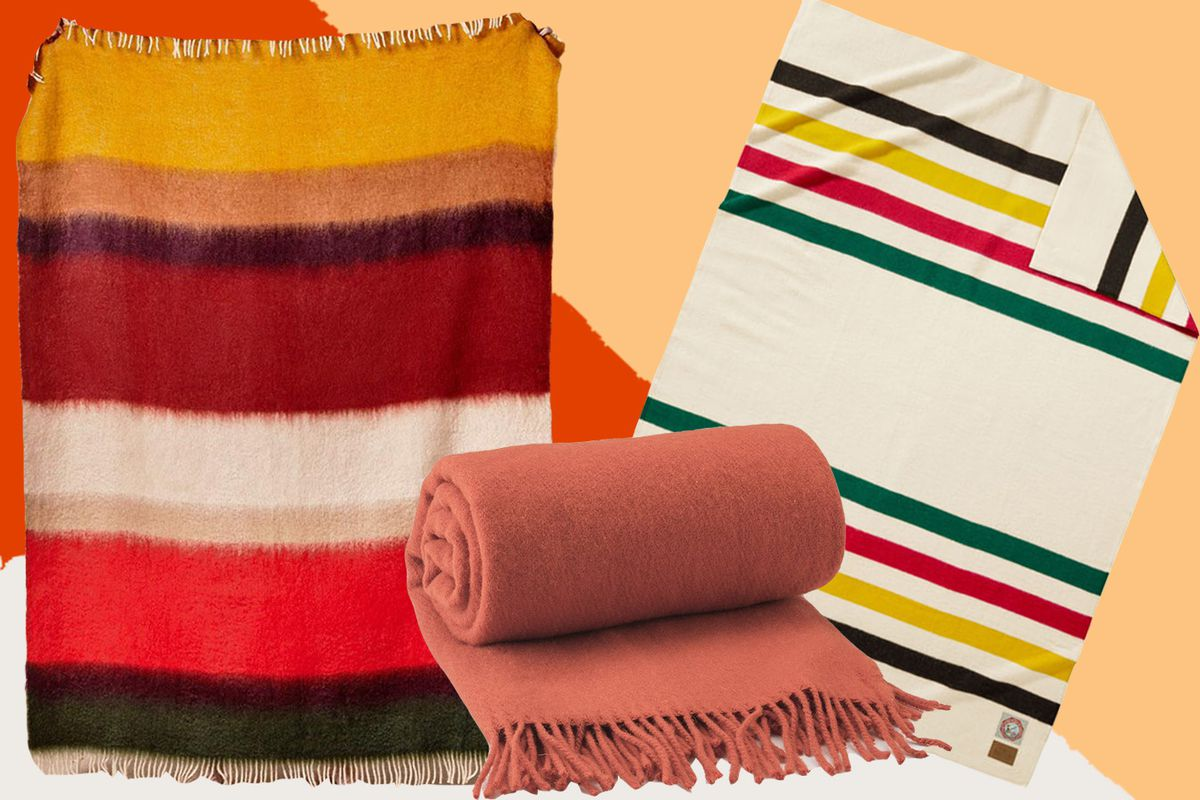 three blankets