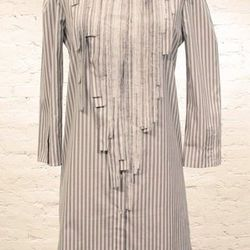Tess Giberson stripe fragment shirt dress (was $325, now $162.50)