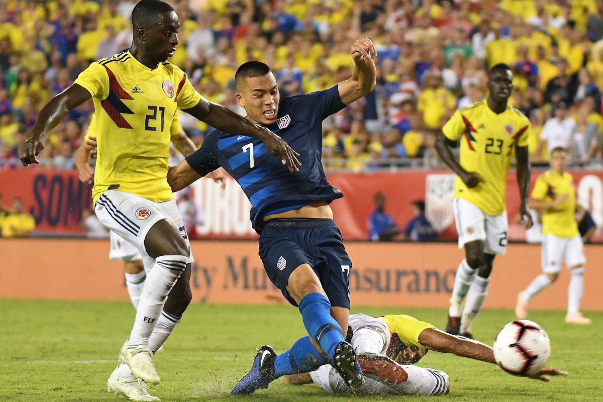 The Usmnt Had No Answers To Colombia S High Ed