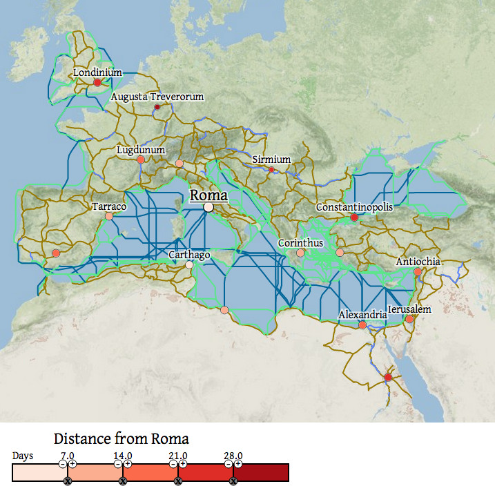 The Roman Empire, explained in 40 maps - Vox