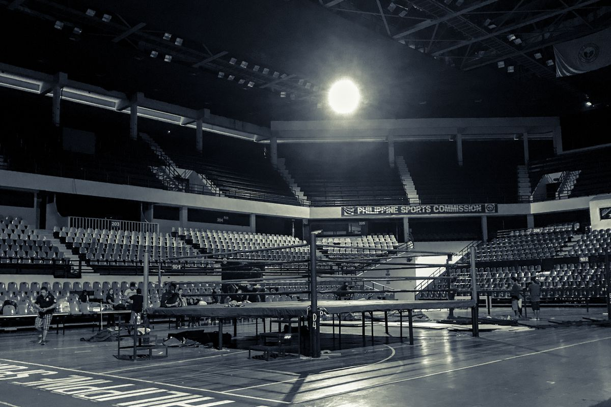 Muay Thai, ring