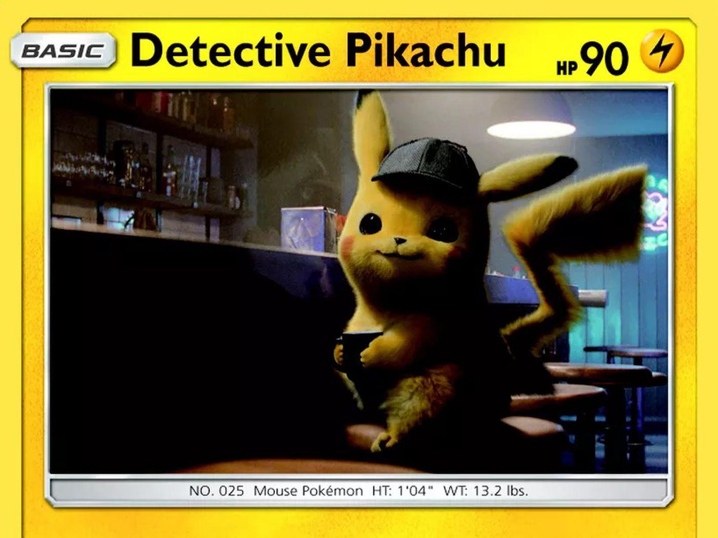 detective pikachu pokemon cards value