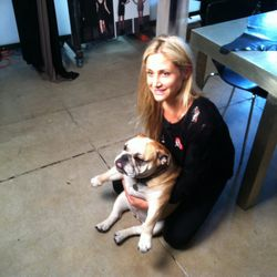 Designer Kimberly Ovitz and Lox