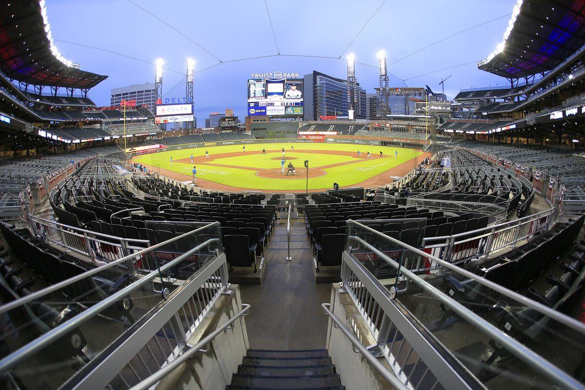 MLB: JUL 21 Marlins at Braves